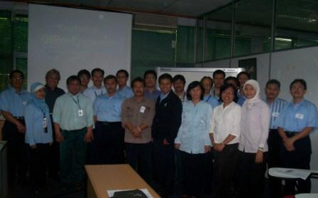 Inhouse Training Ergonomics di PT. Palyja